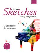 Cover for Piano Sketches Book 1 - 9780193413276