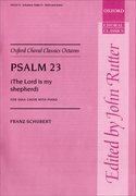 Cover for Psalm 23 (The Lord is my Shepherd)