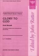 Cover for Glory to God from <i>Messiah</i>