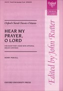 Cover for Hear my prayer