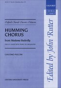 Cover for Humming Chorus from <i>Madama Butterfly</i>