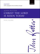 Cover for Christ the Lord is risen today