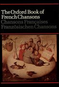 Cover for The Oxford Book of French Chansons