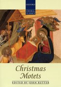 Cover for Christmas Motets - 9780193437043