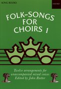 Cover for Folk-Songs for Choirs 1