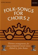 Cover for Folk-Songs for Choirs 2