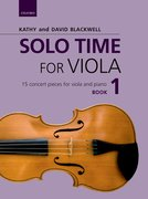 Cover for Solo Time for Viola Book 1 - 9780193513280
