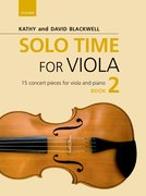 Cover for Solo Time for Viola Book 2 - 9780193513297
