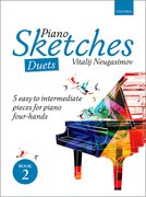 Cover for Piano Sketches Duets Book 2 - 9780193517660