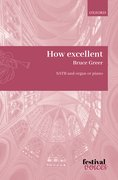 Cover for How excellent