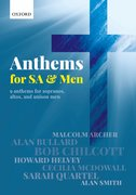 Cover for Anthems for SA and Men - 9780193524170
