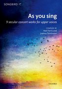 Cover for As you sing - 9780193524217