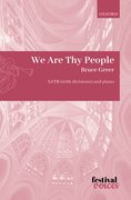 Cover for We Are Thy People