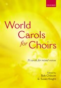 Cover for World Carols for Choirs (SATB)