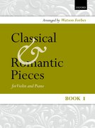 Cover for Classical and Romantic Pieces for Violin Book 1