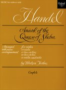 Cover for Arrival of the Queen of Sheba