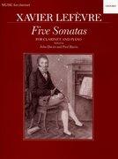 Cover for Five Sonatas
