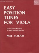 Cover for Easy Position Tunes for Viola