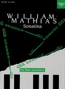 Cover for Sonatina for flute and piano