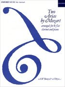 Cover for Two Arias