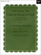 Cover for Fantasia on Greensleeves