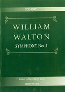 Cover for Symphony No. 1 - 9780193683259
