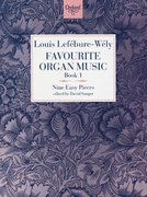 Cover for Favourite Organ Music Book 1: Nine Easy Pieces