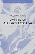 Cover for Love divine, all loves excelling