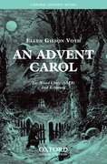 Cover for An Advent Carol