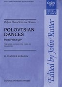 Cover for Polovtsian Dances from <i>Prince Igor</i>