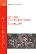 Cover for Quem pastores laudavere