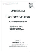 Cover for Three Introit Anthems
