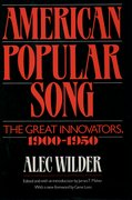 Cover for American Popular Song