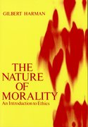 Cover for The Nature of Morality