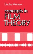 Cover for Concepts in Film Theory