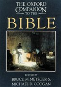 Cover for The Oxford Companion to the Bible