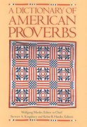 Cover for A Dictionary of American Proverbs
