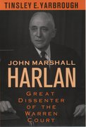 Cover for John Marshall Harlan
