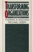 Cover for Transforming Organizations