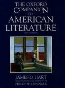 Cover for The Oxford Companion to American Literature