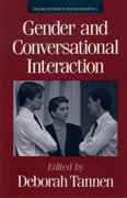 Cover for Gender and Conversational Interaction