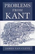 Cover for Problems from Kant