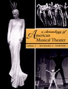 Cover for A Chronology of American Musical Theater