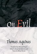 Cover for On Evil - 9780195091830