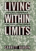Cover for Living Within Limits