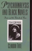 Cover for Psychoanalysis and Black Novels