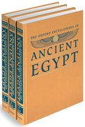 Cover for The Oxford Encyclopedia of Ancient Egypt