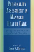 Cover for Personality Assessment in Managed Health Care