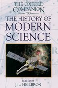 Cover for The Oxford Companion to the History of Modern Science