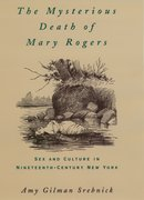 Cover for The Mysterious Death of Mary Rogers